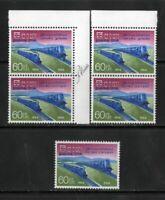 Ceylon Stamps # 382 XF OG NH Lot Of 5