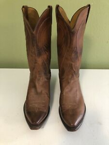 Lucchese Classics Mens Western Boots 10.5 D - Handmade Beautiful boots
