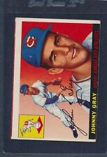 1955 Topps #101 Johnny Gray A's VG 55T101-92115-5