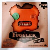 Cardinal Fuggler Funny Ugly Monster 100Piece Puzzle Orange New In Box Sealed NIB