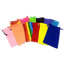 Drawstring Case Phone Glasses Sunglasses Rainbow Pocket Pouch Bulk Wallet Soft