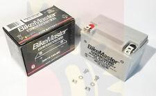 New BikeMaster Platnum 2 Sealed AGM Battery Suzuki YT12A-BS 1 Year Warranty