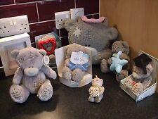 me to you teddy bear bundle  8 items money box storage case miss you
