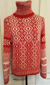 Damen Pullover Marc O`Polo gr XL(fürM-Achselbr.52cm) 55%BW,45%Schurwolle,warm