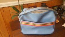 Vintage Amelia Earhart luggage/ travel bag retro blue color-Balti. Luggage-Japan