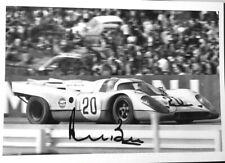 Porsche 917K JO SIFFERT /  DEREK BELL Spa 1000 km 1971 HAND SIGNED by Derek Bell