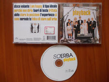 CD Soerba Playback 1998 Ita MERCURY 558 432-2 Electronic Synth-pop no lp mc dvd