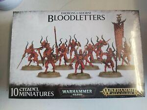 Daemons Of Khorne Bloodletters Games Workshop Warhammer Age of Sigmar Brand New