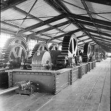 KEMBS c. 1960 - Centrale Hydroélectrique  Haut Rhin - Négatif 6 x 6 - N6 GE47