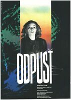 PROSTI - FORGIVE ME Orig. Czech Artistic RARE A3 Movie Poster 1987 ERNEST YASAN