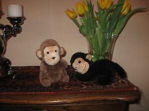 Old Vintage Lot of 2 Dutch Monkey
