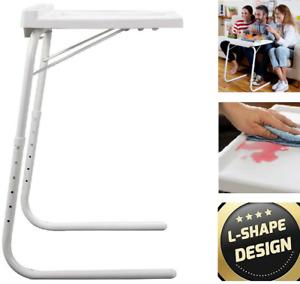 Portable Table Mate ll Express Adjustable Folding Table Tv Laptop Tray Desk Sofa