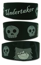 *NEW* Black Butler: Undertaker PVC Wristband by GE Animation