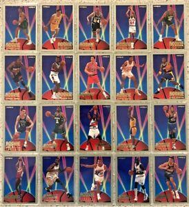 93-94 Fleer NBA Rookie Sensations Complete Insert Set inc. Shaquille O'Neal