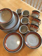 "Hoganas Keramik ""Randa Banda"" Swedish Stoneware Set"