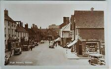 More details for high street, oakham, rutland, l.o. illsley. real photo. postcard.