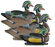 Higdon Standard Wood Duck Floater Decoy 6 Pack