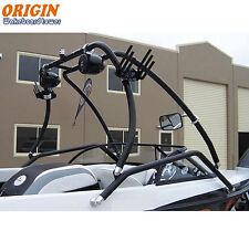 Origin Boat Aluminium Catapult Wakeboard Tower Black Coated