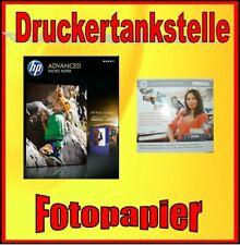 HP glossy Advanced Fotopapier 25 Blatt 250g 10x15cm Software Business Design CD