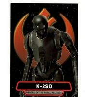 2016 TOPPS: STAR WARS ROGUE ONE SERIES 1 HR-3 K-2SO TRADING CARD