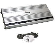 OPTI500X2 Amplifier LANZAR 2000 Watt / 2 Chanel Mono Block Mosfet w-Remote