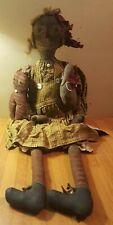 Vintage Primitive OOAK Belindy Doll by Gerri Drobot Nimble Fingers Keepsakes