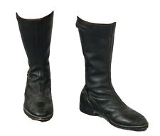 Mens all leather Vintage Bikers boots size 9
