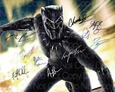 Black Panther signed photo Chadwick Boseman 8X10 poster picture autograph RP 3