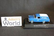 Starline Opel Rekord P2 Caravan 1960 1:43 white / blue, Aral (JMR)