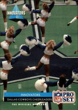 1992 Pro Set Football Card #35 Cheerleaders INN