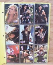 Xena Warrior Princess: Trading Cards - Series Three Complete Set of 72 *Read*