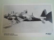 RP Postcard Vickers Wellington Two Bristol Pegasus Engines - Vintage Aircraft