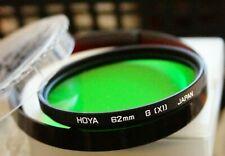 Hoya 62mm G (XO) Green  Filter