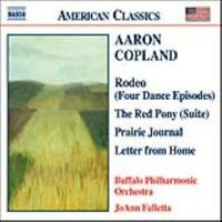 COPLAND: RODEO; THE RED PONY; PRAIRIE JOURNAL; LETTER FROM HOME NEW CD