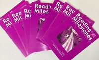 Reading Milestones Purple Level 5 Set of 8 Workbooks 3-10 3rd Third Edition