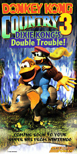 DONKEY KONG COUNTRY 3 NINTENDO POWER POSTER