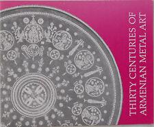 New listing 30 Centuries Of Armenian Metal Art,Armenia,Armenie,Armen ien,Paul Bedoukian,1978
