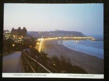 POSTCARD YORKSHIRE SCARBOROUGH - SOUTH BAY EVENTIDE