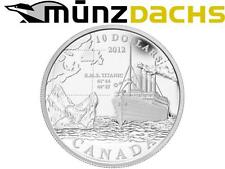 $10 RMS R.M.S. Titanic .9999 fine Silver Coin Canada Proof 2012 Sold Out