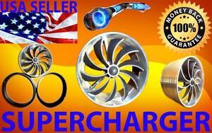 Jaguar Rover Turbo Air Intake Supercharger Engine Fan