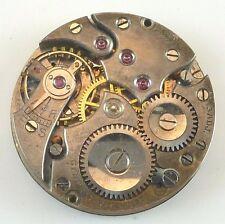 Vintage General Watch Co. Mechanical Wristwatch Movement -  Parts / Repair