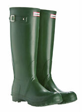 Hunter Original Tall Green Wellies UK Sizes 3-12
