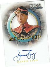 "Quotable Xena - A48 Daniel Sing as ""Ming Tien"" Auto/Autograph Card"