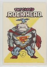 1983 General Mills Zero Heroes #63 The Caped Rock Head Non-Sports Card 0a3
