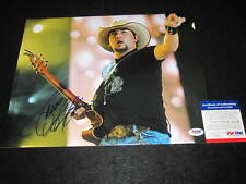 JASON ALDEAN SIGNED 11X14 PHOTO PSA/DNA MY KINDA PARTY DIRT ROAD ANTHEM 1