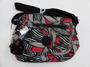 KIPLING SABIAN AC8282 BOLD LEAF RED CROSSBODY MINI BAG