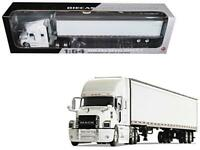 Mack Anthem Sleeper Cab with 53' Trailer White 1-64 Diecast Model by First Gear