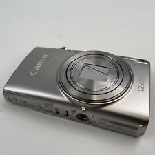 Canon PowerShot ELPH 360 HS Digital Camera - Silver NO BATTERY