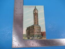 Vintage New York Singer Building Broadway and Liberty Street Post Card PC54