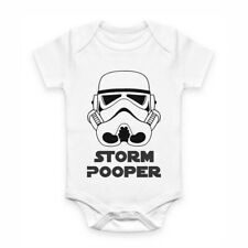 Cute Baby Clothes - Romper with print - STORM POOPER